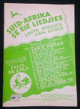 South Africa's Own Songs (Suid-Afrika se eie Liedjies), 36pp, Complete & Intact!