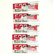 502 SUPER GLUE - 5pcs 3g  deLi No. 7146 BRAND NEW  {S51/+