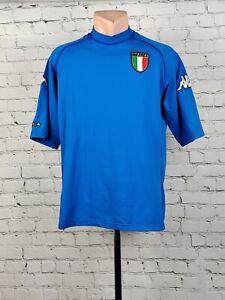 Football shirt soccer FC Italy Italia Home 2000/2001/2002 Kappa jersey UEFA 2XL