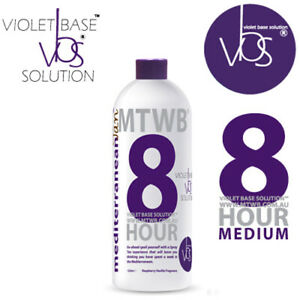 SPRAY TAN SOLUTION - MediterraneanTan® 8 HOUR Medium - VBS® - 11% DHA