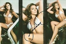 Danica Patrick SEXY SPORTS ILLUSTRATED SWIMSUIT Signed 4x6 Photo #1