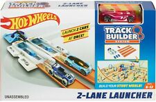 Hot Wheels® Track Builder 2 LANE LAUNCHER Race Track Car Playset