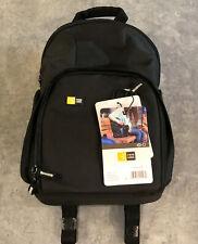 NEW Case Logic Compact DSLR Camera Tablet Black Backpack Bag Tablet Photography
