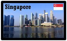 SINGAPORE - SOUVENIR JUMBO FRIDGE MAGNET - BRAND NEW - GIFT / PRESENT