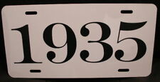 1935 YEAR LICENSE PLATE FITS CHEVY FORD CHRYSLER BUICK HUDSON DODGE PLYMOUTH REO