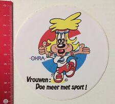 Aufkleber/Sticker: Ohra - Vrouwen Doe Meer Met Sport (2005163)
