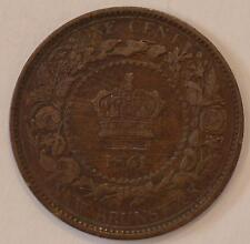1861 VF New Brunswick Large Cent #4