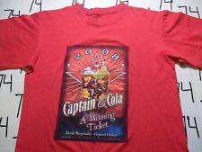 Medium- 2008 Captain Morgan T- Shirt