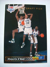 Rookie Shaquille O'Neal NBA Basketball Trading Cards
