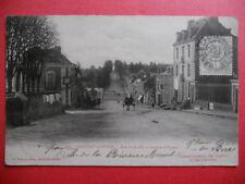 CHATEAU-GONTIER  :  La Rue de Razilly et l'Avenue d'Angers......VO.1903.