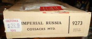 (4) Vintage Britains #9273 Imperial Russian Cossacks MTD