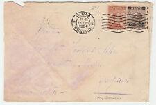 STORIA POSTALE 1924 REGNO C.20+50 SU 40 ROMA 26/12 Z/1888