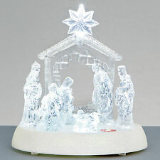 Premier 20 cm Natale Illuminare Musical Acrilico presepe
