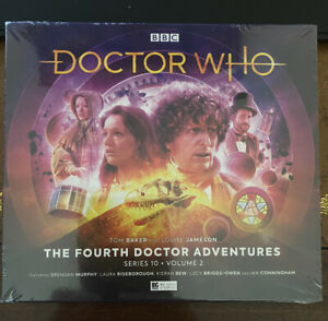 Big Finish Doctor Who: The Fourth Doctor Adventures Series 10 Vol 2 New & Sealed