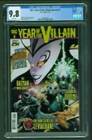 DC Year of the Villain Special #1 CGC 9.8 First 1st Print Capullo Cover Edition