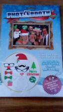 Christmas photo booth selfie kit, 12 props, 12 posing sticks Xmas photo fun.