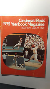 Cincinnati Reds 1975 Yearbook Magazine