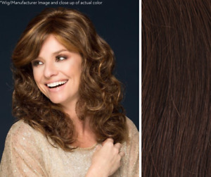 Imperfect Louis Ferre Charlotte Wig - Synthetic - Color 8 Medium Brown