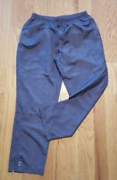 Holloway polyester wind Pants Mens Large grey New nwot