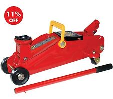 HEAVY DUTY 2 TONNE TON HYDRAULIC FLOOR TROLLEY JACK CAR VAN 2YR WARRANTY