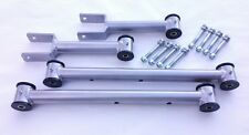 1968-1972 A Body Chevelle Tubular Upper and Lower Control Arms w Hardware SILVER
