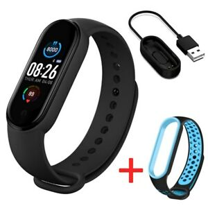 Ml Band 5 Bluetooth Smart Watch Fitness Tracker HeartRate Blood Pressure Monitor
