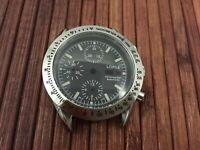 Uhrengehäuse mit Ziffernblatt für ETA Valjoux 7750 swiss made Uhrwerk - neu