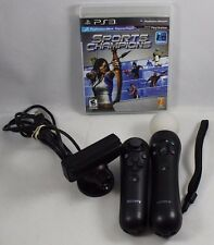 PlayStation 3 Move Bundle Sports Champion Navigation & Move Controller Eye Cam