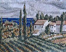 Mosaic Kitchen Backsplash- Ancient Tuscan Scenery Mosaic Tile