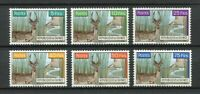 27190) Guinea 1961 MNH New Wild Animals 6v