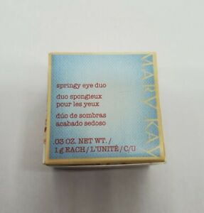 """Mary Kay Springy Eye Duo """"Stonewashed"""" Limited Edition New In Box Discontinued"""