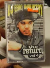 DJ ERIC INDUSTRY THE RETURN VOL.4  Cassette,SEALED)