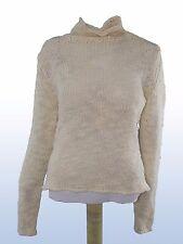 caractere maglione donna bianco lana taglia m medium