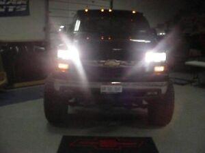 99 Chevy Truck 4 Head Light High Beam Kit 00 01 02 GMC Silverado Sierra