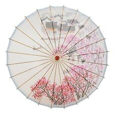"THY COLLECTIBLES Rainproof Handmade Chinese Oiled Paper Umbrella Parasol 33"" ..."