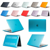 "Crystal Clear Hard Case Cover Skin for Apple Macbook Pro 13""/15"" Air 11""/13""inch"