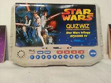 Star Wars Trilogy IV V VI Quiz Wiz Tiger Game 1997