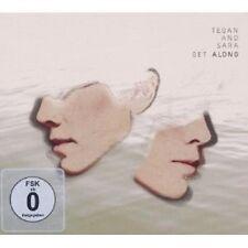 """TEGAN AND SARA """"GET ALONG"""" CD + DVD NEU"""