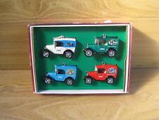 MATCHBOX YESTERYEAR  Christmas Treasures 1994   Austin 7 Vans  Deceased Estate