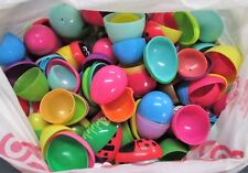 Used Plastic Easter Eggs for Candy Game Hide Inside