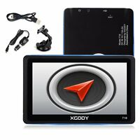 "XGODY 7"" Zoll PKW Auto GPS Navigationsgerät Navigation Built-in MP3 Bluetooth FM"