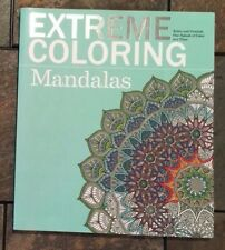 Brand New Mandalas Extreme Coloring Adult Coloring Book Brand New Relax Destress