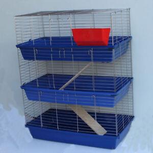 XXL 1m Hasenkäfig Nagerkäfig Kaninchenkäfig Käfig Stall Meerschweinchen 6 Farben
