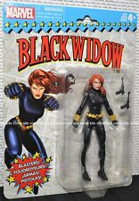 "Hasbro Marvel Vintage Card Series 6"" Figure Black Widow"