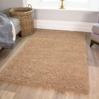 Light Brown Taupe Modern Thick Shaggy Cheap Large Small Living Room Floor Rug