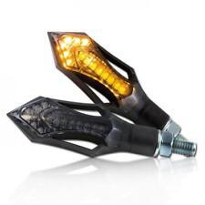 Universal Motorrad LED-Blinker Rush ABS getönt M8 E-geprüft