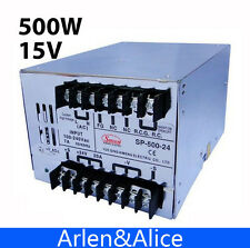 500W 15V 32A with PFC Single Output Switching power supply for LED Strip light