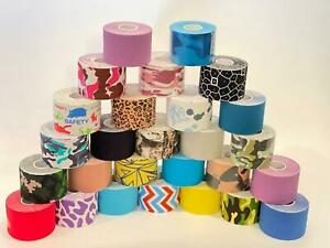 Kinesiology Tape Sports Physio Knee Shoulder Body Rock Tape Muscle Support 5m UK
