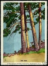 RED PINE, NATIONAL WILDLIFE FEDERATION CINDERELLA 1953, MNH