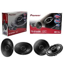 "PIONEER TS-G1645R 6.5"" 250W 2-WAY + TS-G6945R 6X9"" 300W 2-WAY CAR AUDIO SPEAKERS"